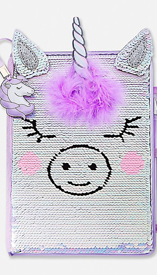 Unicorn Flip Sequin Journal