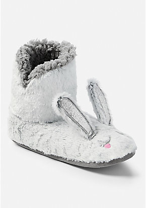 Bunny Slipper Booties