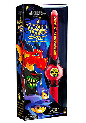Mighty Red Dragon Vog Wizard Wand