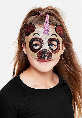 Pugacorn Costume Mask