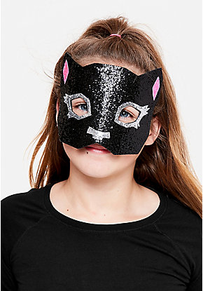 Black Cat Costume Mask