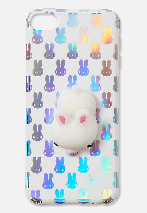 online store 72913 3272a Squish Snow Bunny iPhone 5 Case | Justice