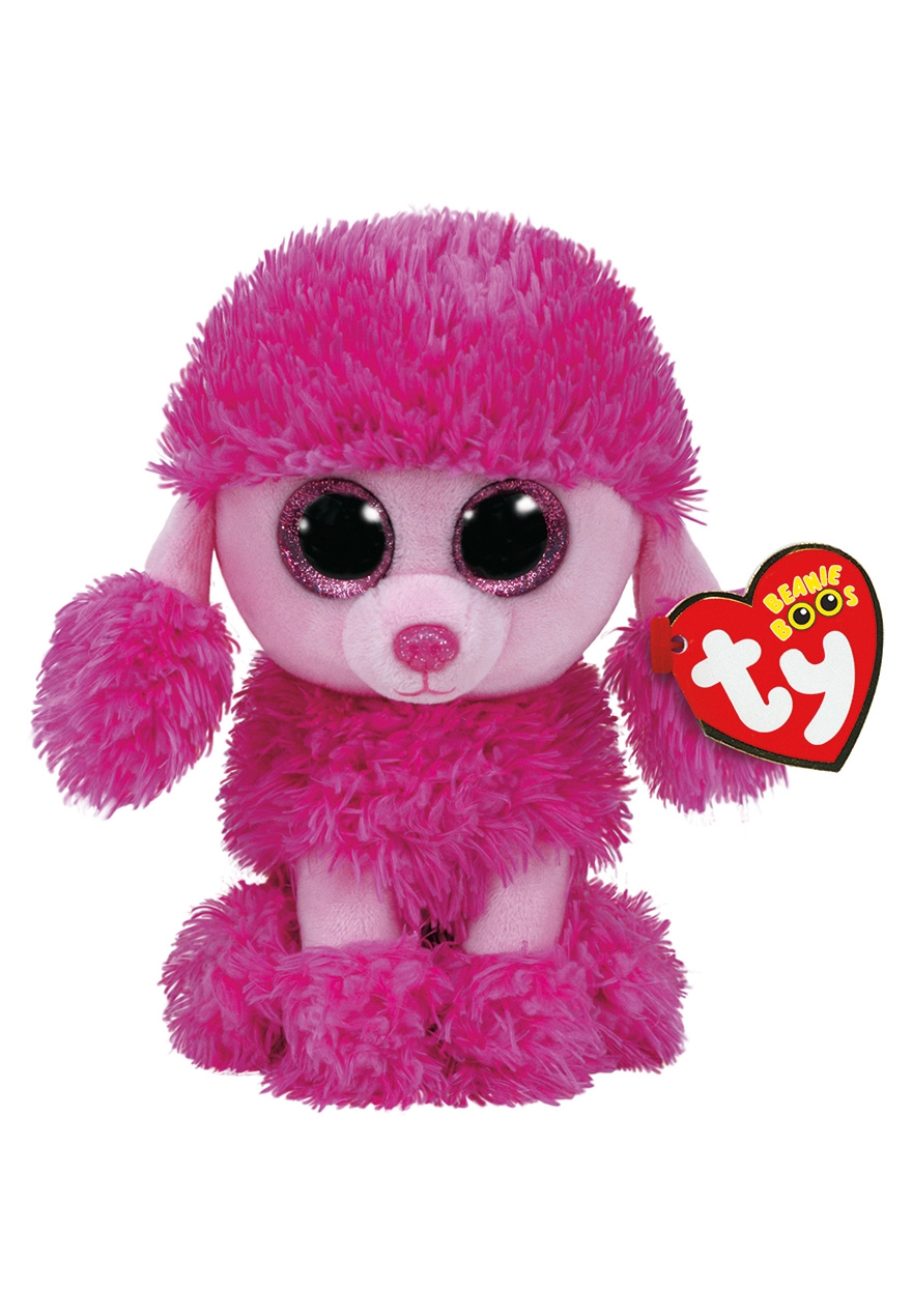 Patsy Pink Poodle 6 Inch Beanie Boo Justice