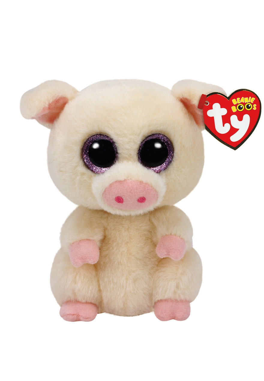 Piggley Pig 6 Inch Beanie Boo Justice