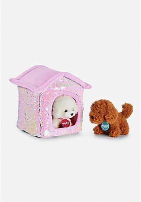 Pet Shop Flip Sequin Plush House