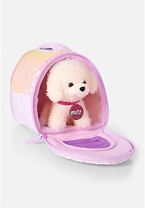 Pet Shop Flip Sequin Pet Carrier