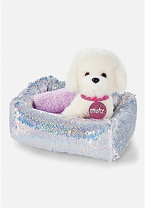 Pet Shop Flip Sequin Bed