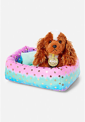 Pet Shop Ombre Foil Dot Bed