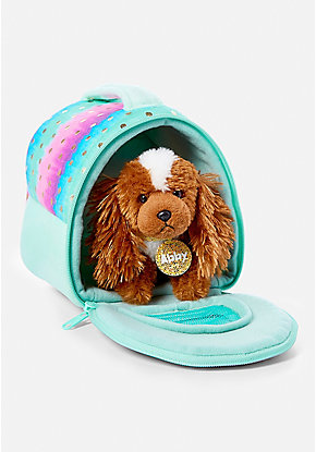 Pet Shop Ombre Foil Dot Pet Carrier
