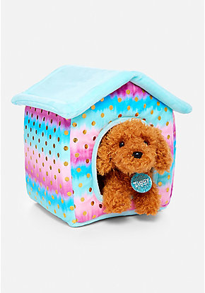 Pet Shop Ombre Foil Dot Plush House