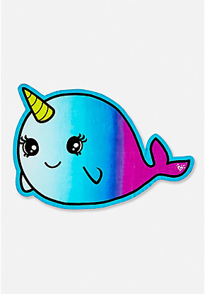 Narwhal Beach Towel