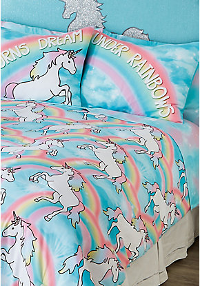 Unicorn 7-Piece Bed in a Bag - Queen Size
