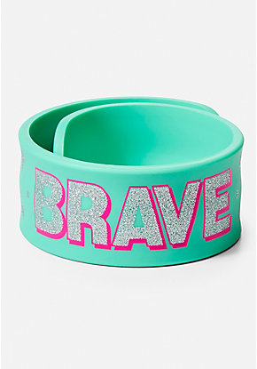 Unicorn Brave Slap Bracelet
