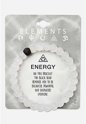 Elements Beaded Silicone Bracelet