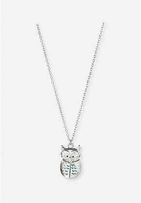 Owl Love You Locket Necklace