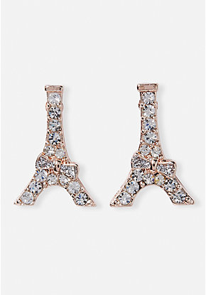 Sparkle Eiffel Tower Earrings
