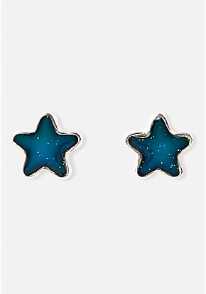 Star Mood Stud Earrings
