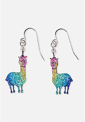 Sparkle Llamacorn Earrings