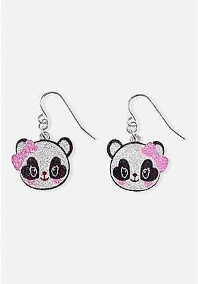 Sparkle Panda Earrings