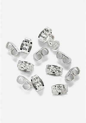 Butterfly Earring Backs - 24 Pack