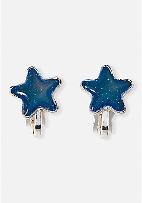 Star Mood Clip-On Earrings