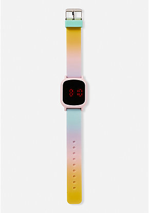 Ombre LED Watch