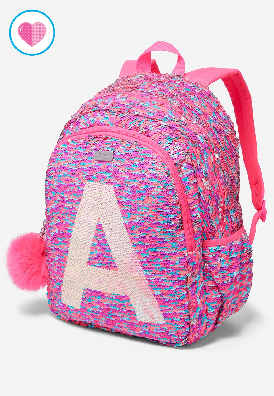 Flip Sequin Initial Backpack | Justice