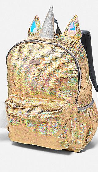 Unicorn Flip Sequin Backpack Justice