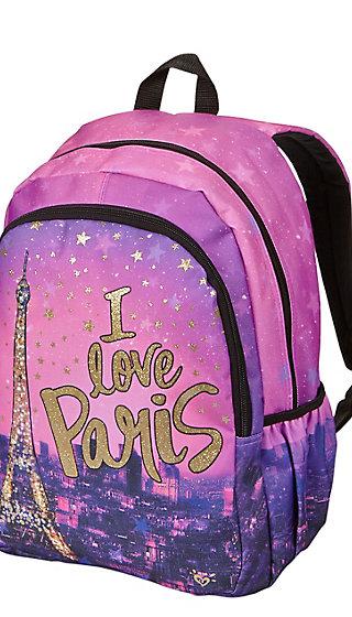 I Love Paris Backpack Justice