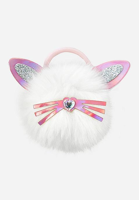 Bunny Pompom Hair Tie  5aceee9452c