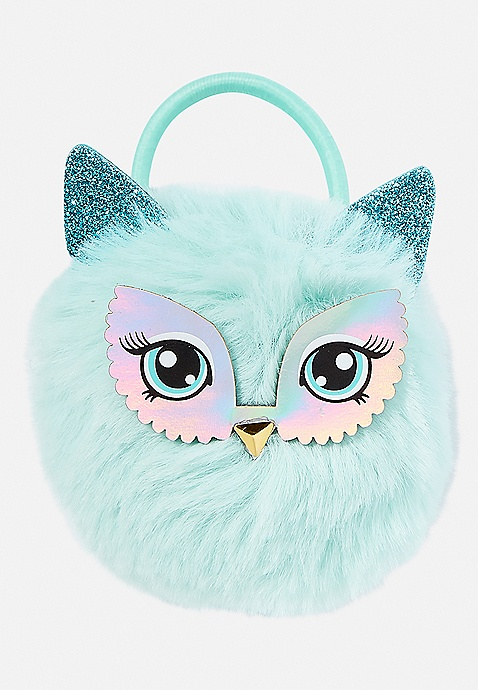 Owl Pompom Hair Tie  b18b74ad080