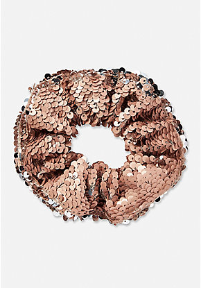 Flip Sequin Scrunchie