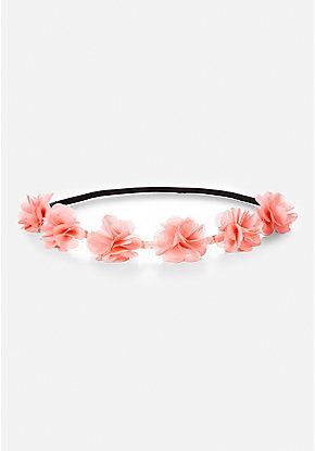 Braided Flower Headwrap