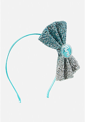 Paris Glitter Bow Headband