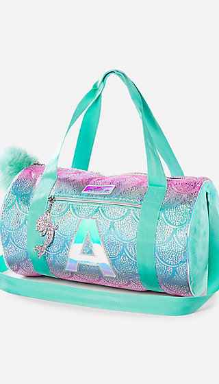Initial Mermaid Duffle Bag