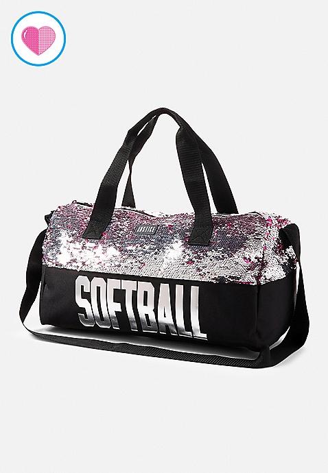 465536b7ad14 Softball Flip Sequin Duffle Bag