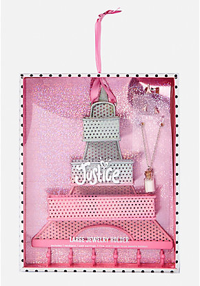Eiffel Tower Hanging Jewelry Holder Set