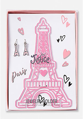 Eiffel Tower Mini Jewelry Holder Set