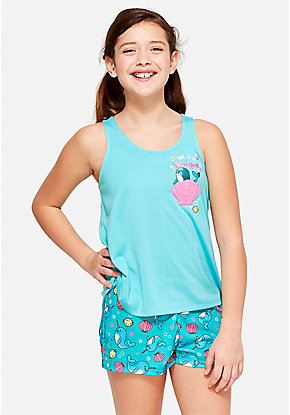Be Unique Narwhal Pajama Set