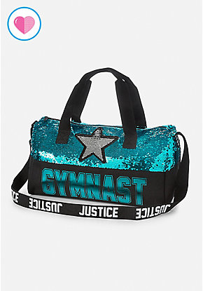 Gymnast Flip Sequin Duffle Bag