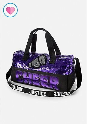 Cheer Flip Sequin Duffle Bag