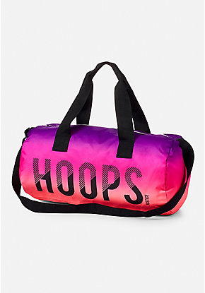 Basketball Ombre Duffle Bag