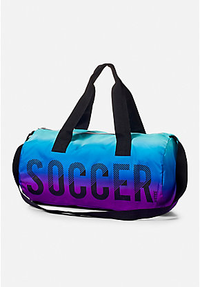 Soccer Ombre Duffle Bag