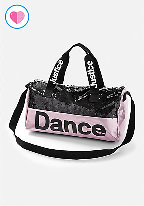 Dance Flip Sequin Duffle Bag