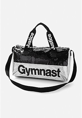 Gymnastics Flip Sequin Duffle Bag