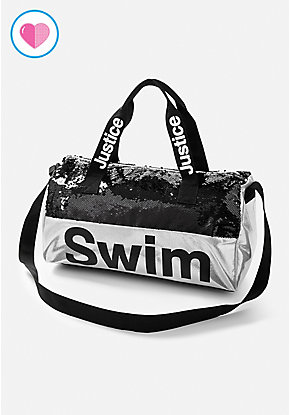 Swim Flip Sequin Duffle Bag