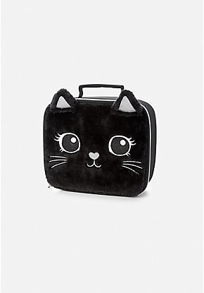 Black Cat Lunch Tote