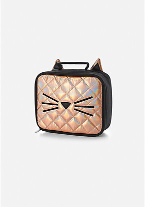 Quilted Cat Lunch Tote