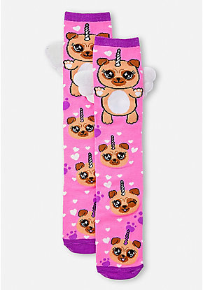 Pugacorn Knee High Socks