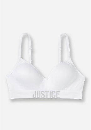 Logo Band T-Shirt Bra